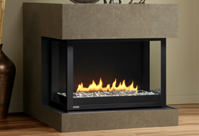 HL38DF-PRC Panorama Fireplace