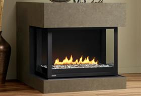 HL38DF-PRC Panorama Fireplace