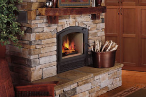 Villa Vista Fireplace