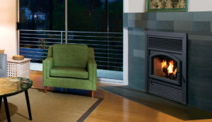 IHP's Wood Burning Brentwood can heat up to 1,500 Sq. Ft.