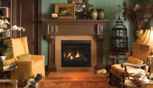 Astria's Gemini Gas Fireplace